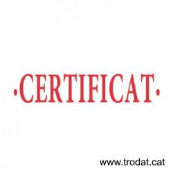 Formula Comercial Certificat