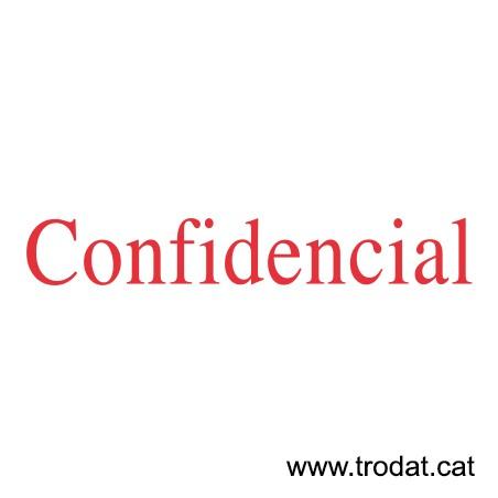 Formula Comercial Confidencial