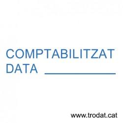 Formula Comercial Contabilizado fecha