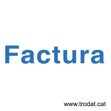 Formula Comercial Factura