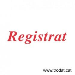 Formula Comercial Registrado