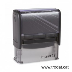 Imprint 13 placa de 58x22 mm.
