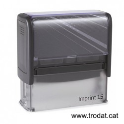 Imprint 15 placa de 70x25 mm.